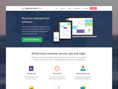 Home / Landing Page