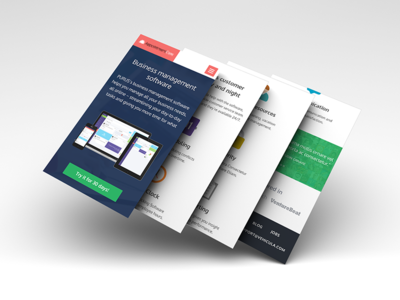 Landing Page For Iphone
