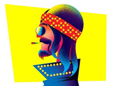 Illustration #hippie