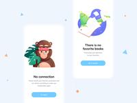 Artwork for LOO BOOK app dailyui illustrator app characterdesign affinitydesigner 2d illustration color art vector