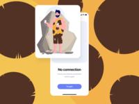 No connection (Caveman)