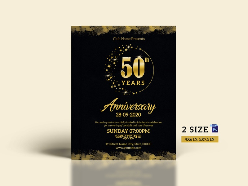 Anniversary Celebration Flyer anniversary celebration flyer