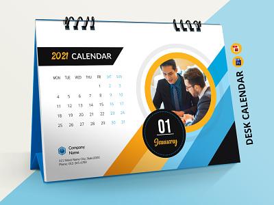 Desk Calendar Template 2021 desk calendar template 2021