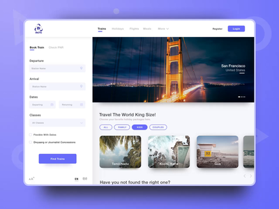 Book My Travel bookings tickets flight train video gif aniamtion ae sketch packages holiday packages holiday travel ux ui
