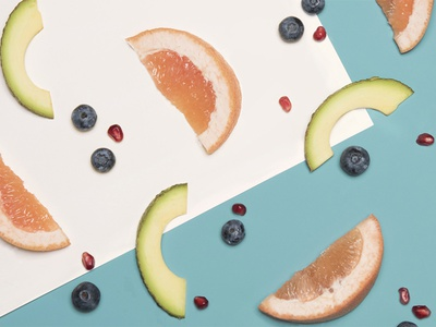 BuzzFeed Food art direction photography fruit food