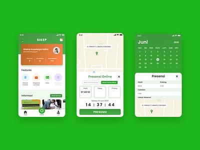 Staffing System Mobile App mobile minimal ux app design ui