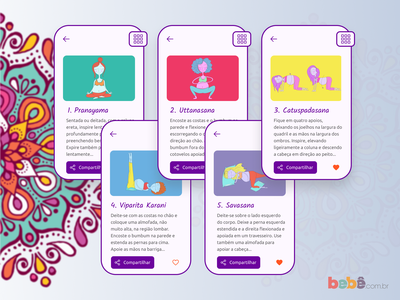 DailyUI - #045: Info Card illustration figma pregnant ioga yoga info card design graphic design ux design ui design ui ux dailyui