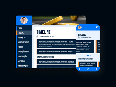 DailyUI - #047: Activity Feed graphic design feed activity feed workout gym figma uidesign uxdesign ui ux design dailyui