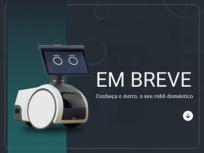 DailyUI - 048: Coming Soon astro robot interface figma graphic design uxdesign ui design ux ui dailyui