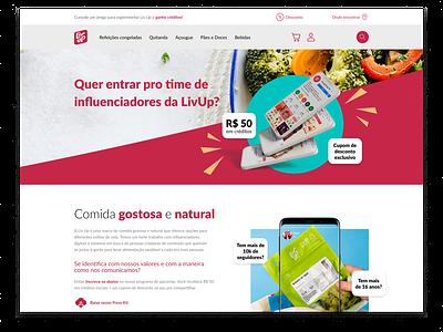 DailyUI - #051: Press Kit branding figma press kit food uidesign uxdesign design ux ui dailyui