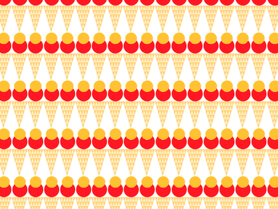 DailyUI - #059: Background Pattern background pattern ice cream pattern background graphic design figma design dailyui daily ui uxdesign uidesign ux