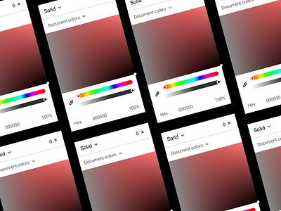 DailyUI - #060: Color Picker colorpicker color colors uxdesign uidesign graphic design figma design ux ui dailyui