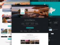 Travelkeys: Microsite Homepage