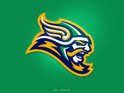 Vikings illustration identity sports branding sportswear mascot viking sports