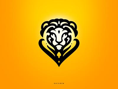Leo mascot branding illustration logotype logo tribal lion