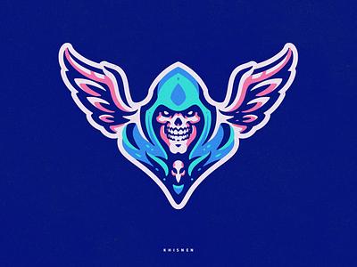Soul Reaper reaper skull branding illustration sport logo sport logotype logo mascot