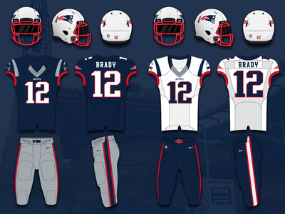 New England Patriots Uniform