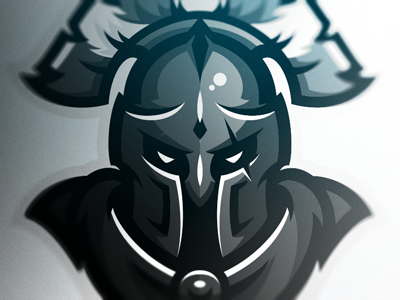 Spartan esports logo mascot warriors spartan
