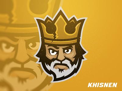 King crown branding sport branding sport royal mascot logo king
