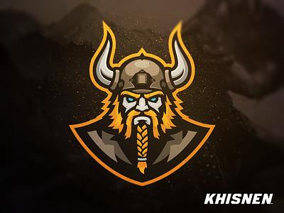Vikings nordic logo sport branding sport viking warrior mascot