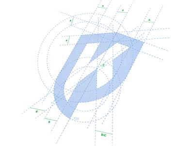 Personal Logo v3.1 personal logo monogram letter logo shield mark p k logotype