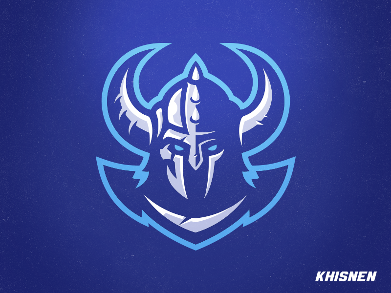 Viking 2018 gaming esports logo warrior branding viking