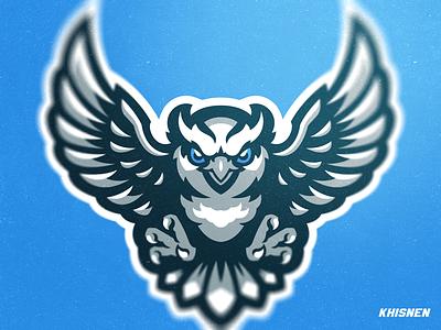 Owl Mascot mascots logos sports logos owls birds logotype branding