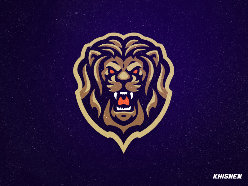 Lion #2 mascot lions sports illustration logo logotype sports branding
