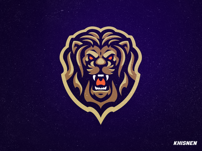 Lion #2 mascot lions sports illustration logo logotype sports branding