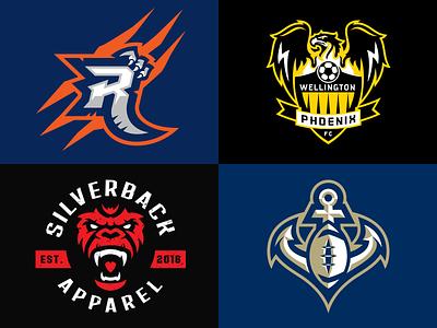 Sports Logos mascot sports logos branding logotype logos sports