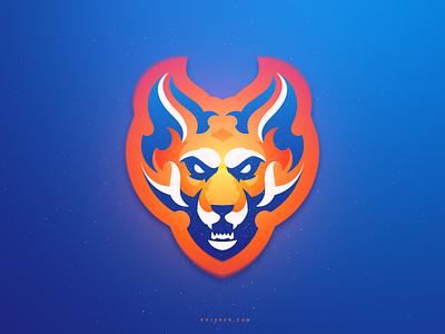 Mozilla Firefox Mascot khisnen illustration fox animals logos mascot logotype firefox