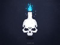 Floating Skull #2