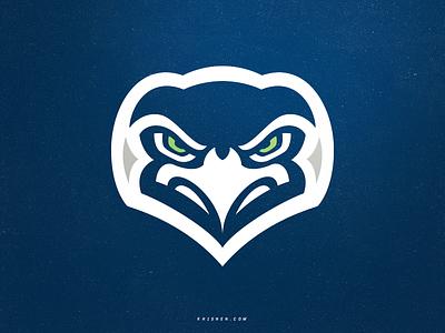 Seattle Seahawks seahawks nfl football icon sports logo mascot logo