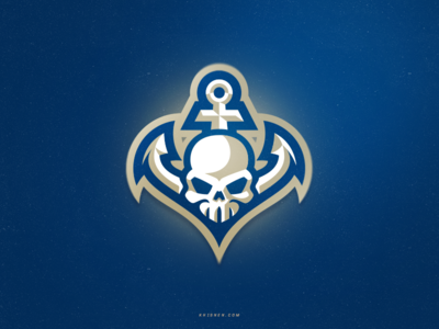Navy vector sports logo icon design sports logo logos football sport logo illustration logotype branding mascot