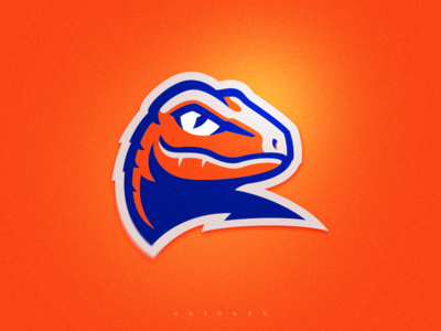 Raptor sport logo illustration sport mascot