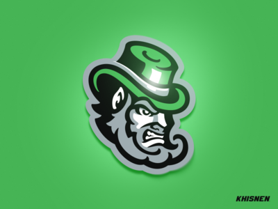 Leprechaun irish leprechaun sports logo sport logo mascot