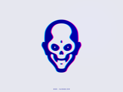 SKULL branding illustration mark logotype logos logo