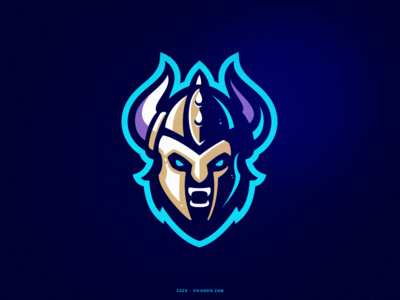 Warrior warrior viking logo viking sports logo illustration branding sport logo mascot logo