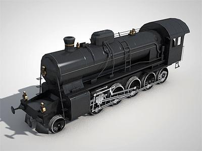 Locomotive game prop 3d modelling texturing rendering cinema4d lowpoly mini