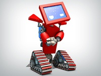 Ticketmachine Robot