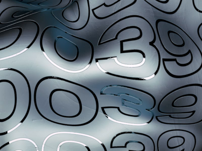 SILVER/0039 agency octanerender italy 0039 type typeface typography artdirection c4d octane presentation symbol render motion 3d logo branding artwork cinema4d 3d animation