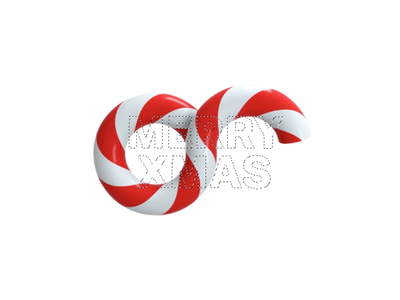 Christmas Holidays symbol video render holiday christmas artwork motion branding logo cinema4d 3d animation