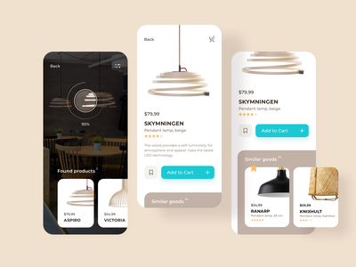 Light Shop | Daily UI abstract futuristic lamp lightning vector icon ios typography modern flat application concept app uxdesign uxd interface ui ux graphic design