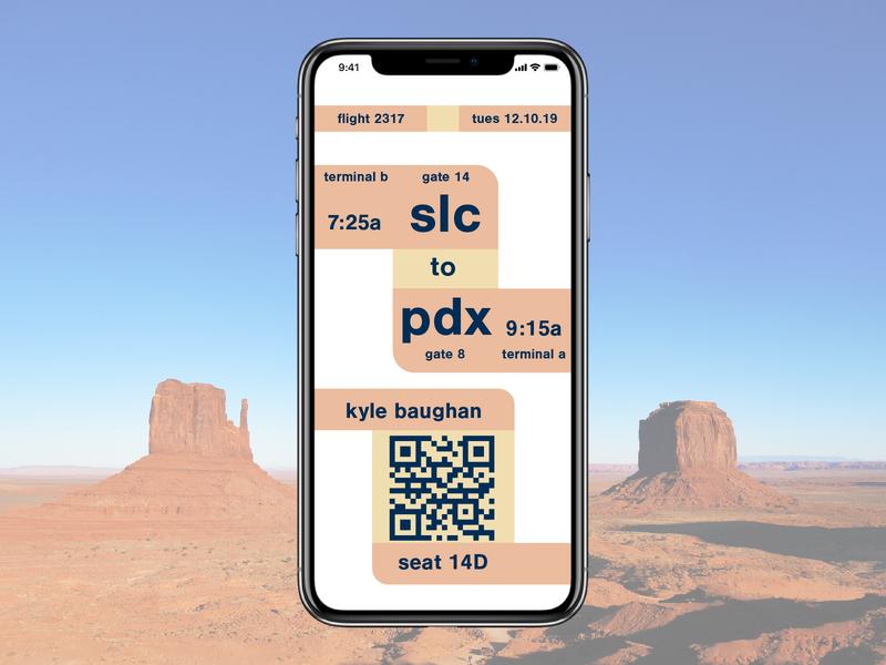 24   boarding pass