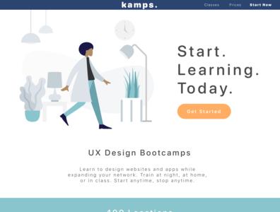 Landing Page   Daily UI 3
