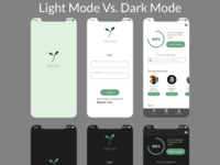 Dark Mode v Light Mode