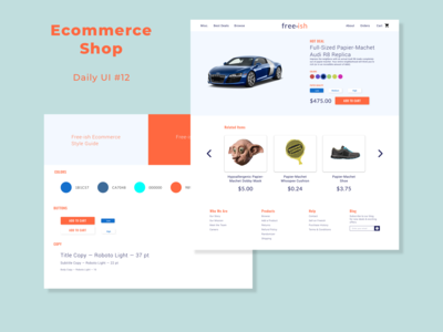 Ecommerce - Single Item