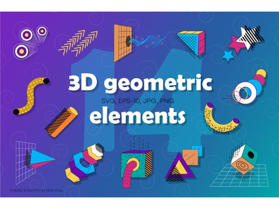 3D geometric design elements. trendy retro vintage circle graphics wireframe hud elements hud square triangle grid geometry modern abstract shapes science fiction sci-fi futuristic shapes modern shapes abstract shapes