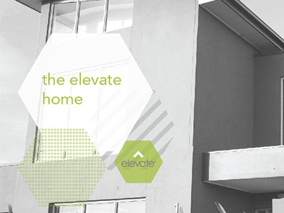 Elevate Home Prospectus prospectus design branding layout brochure