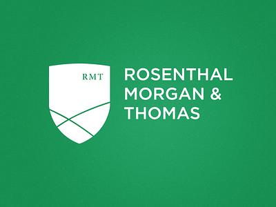 Rosenthal, Morgan & Thomas Logo logo branding financial